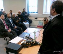 2012 Visit and Reception in UK of Ahmed Ali